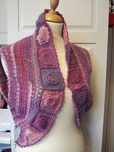 Crochet shrug-vest