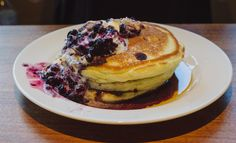 Blueberry Pancakes #recipes #food #cooking #delicious #foodie #foodrecipes #cook #recipe #health