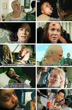 Last words,  the walking dead