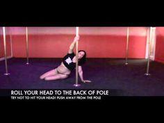 Cleo The Hurricane Pole Dance / Floorwork Tutorial - Drop n' Roll