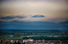 Carpathian Mountains seen from Bucharest. Carpathian Mountains, Bucharest, Romania, Places To Visit, Nature, Travel, Naturaleza, Viajes, Trips