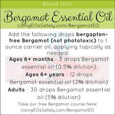 09Bergamot_Recipes_Circ_BloodClots http://www.UsingEOsSafely.com/bergamotEO