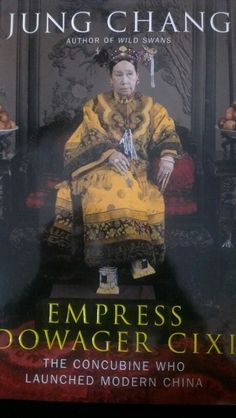Jung chang, empress dowager cixi, can't wait to start this ^^
