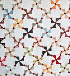Pinwheel Quilt by priscilla