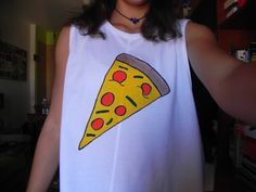 DIY Camiseta pizza