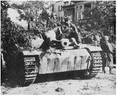 Een Stug III van de Hohenstaufen Division in Arnhem