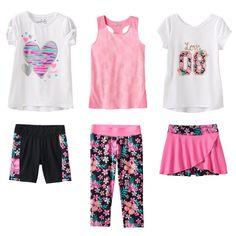 Jumping Beans® Floral Mix & Match Coordinates - Girls 4-7
