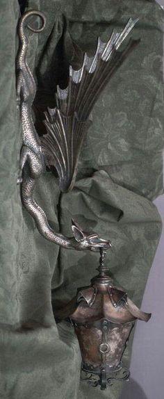 Dragón lámpara