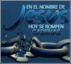 """""""Asi que, si el Hijo os libertare, seréis verdaderamente libres""""..Juan 8:36 Es tiempo de escuchar la voz de Dios. Es tiempo de escapar por nuestra libertad. Los cristianos hemos sido libertados y hechos siervos de Dios, tú que no conoces a Jesús puedes también ser libre, no pierdas más tiempo, para que también puedas tener por fruto la santificación, y como fin, la vida eterna..(Romanos 8:26) Jesús quiere romper nuestras cadenas y darnos su libertad, para que todos seamos verdaderamente…"""