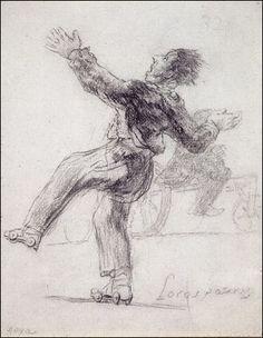 Por el mundo sobre unos patines: Goya y los patinadores