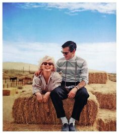 Milton Greene with his friend and muse, Marilyn Monroe.  (Last Milton Greene post!)