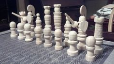 Making a cool chess set