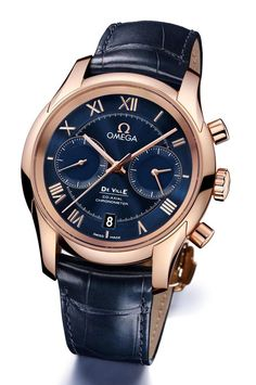 New Omega De Ville Chronograph Co-Axial Calibre Watches Stylish Watches, Luxury Watches For Men, Fine Watches, Cool Watches, Wrist Watches, Nixon Watches, Rolex Watches, Swiss Army Watches, Expensive Watches
