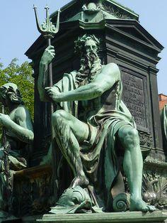 Graz, Stiria (Austria), in memoriam Admiral Wilhelm von Tegetthoff 13.12.1827 - 7.04.1871 (Tegetthoffplatz)