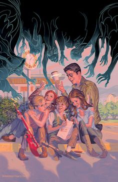 Gallery of comic book cover art for Whedonverse titles like Buffy the Vampire Slayer and Angel & Faith, by Steve Morris. Comic Book Covers, Comic Books, Steve Morris, Buffy The Vampire Slayer, Angel Art, Dark Horse, Comic Art, Seasons, Comics