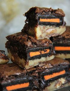 Halloween Slutty Brownies - My Honeys Place