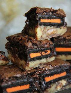 Halloween Slutty Brownies - My Honeys Place