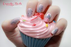 Cupcake Nails by diamant sur l'ongle