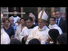 Pope opens Augustinians' Chapter General with Mass at St. Augustine Basilica in Rome