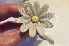 clay daisy flower