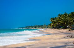 Places to see while in Sri Lanka.   This photo is Hikkaduwa Beach.