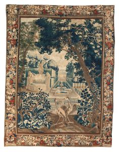 A Brussels verdure tapestry panel<br>late 17th century | Lot | Sotheby's