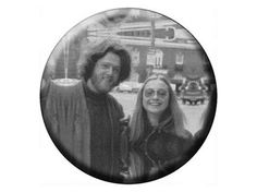 HIPPIE CLINTONS Magnet  Bill and Hillary by psychedelictara, $3.99 from etsy.com