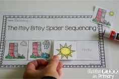 Sequencing sheets for 10 different nursery rhymes