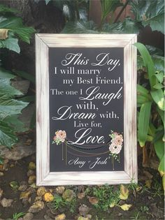 20+ Wedding Sign Ideas Your Wedding Guests Will Love