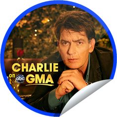 Charlie Sheen on GMA on January 16! Sticker | GetGlue
