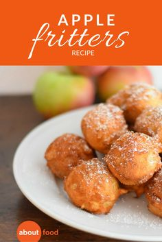 There's nothing better than munching on warm apple fritters while apple picking on a beautiful fall afternoon. But if you can't get to a local apple orchard, you can just make the warm and crispy fritters at home! They are an easy and decadent apple breakfast or afternoon snack!