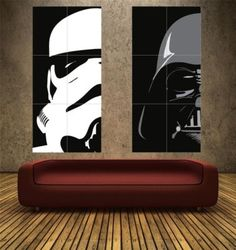 STAR WARS – IMPERIAL SET – PAIR – 2 x POSTER ART PRINTS (Boychild)