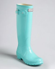 I would like these Hunters for Spring...Tiffany Blue Hunter Boots--love this color.