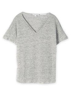 Marle Linen T-Shirt Linen Tshirts, Summer 2015, Women Wear, V Neck, T Shirt, Stuff To Buy, Clothes, Tops, Fashion