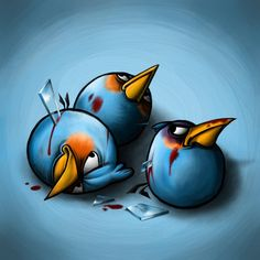 Angry Birds, after the Battle