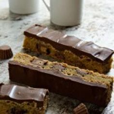 Peanut Butter Cup Cookie Bars Recipe - ZipList