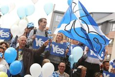 Glasgow Yes rally