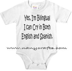 My children will be bilingual