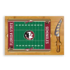 Picnic Time Florida State University Seminoles Icon Cheese Tray - Overstock™ Shopping - Great Deals on Picnic Time Cheese Knives
