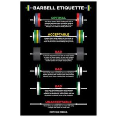 Barbell guidelines!