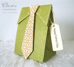 Father's Day gift box by Clare Boswell.