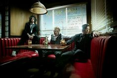 "Sixx: A.M. are streaming a new song ""Stars"" below. Their new album 'Modern Vintage' will be release on October 7 through Eleven Seven Music. Rock Music News, Sixx Am, Rock Hits, Post Rock, Hard Rock Hotel, Nikki Sixx, My Mood, News Songs, New Music"