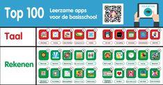 Op deze pagina vind je mijn top 100 met leerzame apps en websites voor de basisschool.Er zijn zoveel goede en leerzame apps en websites te vinden om te gebruiken in de klas. Hierdoor heb je als lee…