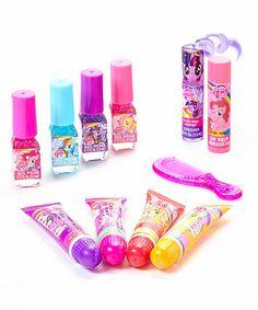 Love this My Little Pony 12-Piece Nail & Lip Set on #zulily! #zulilyfinds