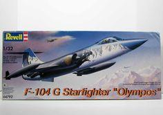 "F-104 G Starfighter ""Olympos"" Revell 04792 1/32 New Airplane Model Kit"