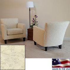 Caroline Fabric Accent Chair  2-pack  (Costco)