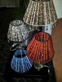 Beaded Lamp Shades Extraordinary Beaded Lamp Shades  Beads Lampshades And Craft Design Ideas