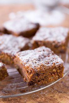 Torta di zucca, mandorle e cioccolato