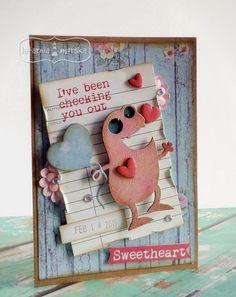 Monster, Valentines Day, Scrapbook, Frame, Projects, Blog, Inspiration, Home Decor, Valentine's Day Diy