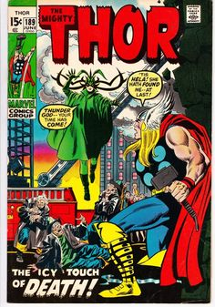 Lot Detail - Thor Marvel Comics (Featuring John Buscema, Joe Sinnott, Marie Severin, and John Romita Sr. Stan Lee and Gerry Conway Stories) Comic Book Pages, Comic Book Covers, Comic Book Characters, Comic Character, Marvel Universe, Marvel Dc Comics, Marvel Heroes, Marvel Vs, Marvel Comic Books